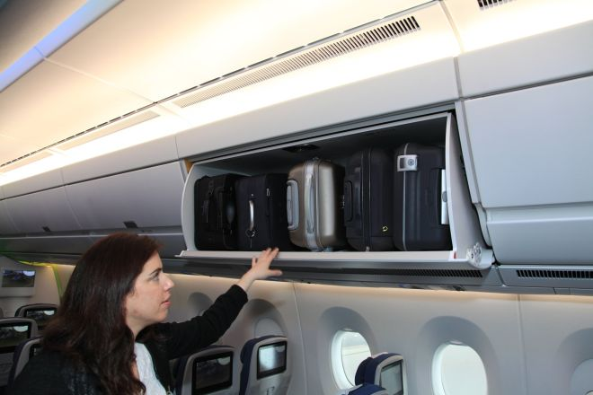 Airbus A350 Bins/FCMedia