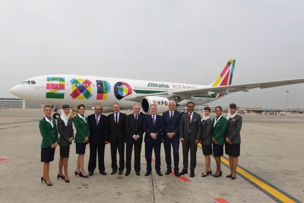 Etihad Alitalia  Expo Milano Unveil  Photo 1