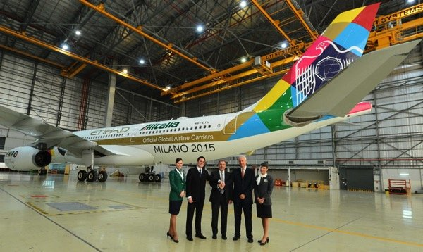 Etihad Alitalia  Expo Milano Unveil  Photo 2