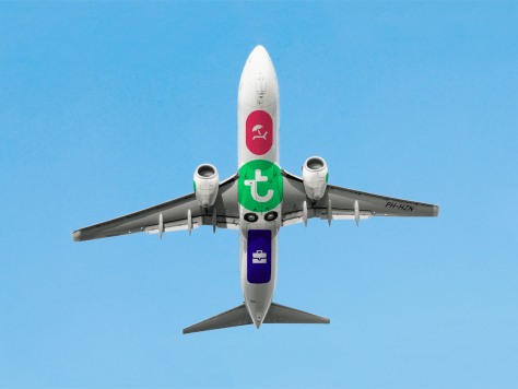 New Transavia Livery Undercarriage/Studio Dumbar, Rotterdam