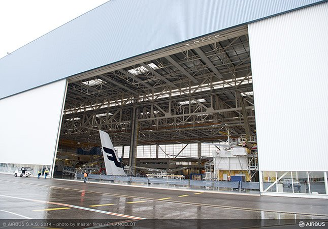Finnair's first A350 aircraft are currently being built in Toulouse, France/photo by master films/F.Lancelot/Airbus/Finnair