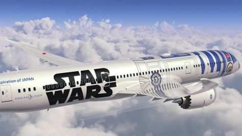 ANA R2-D2 Livery/All Nippon Airways
