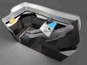 B/E Aerospace Breakout seat, B/E Aerospace
