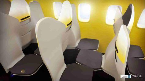 Zodiac Aerospace HD31 Forward/Aft Seating/Zodiac Aerospace