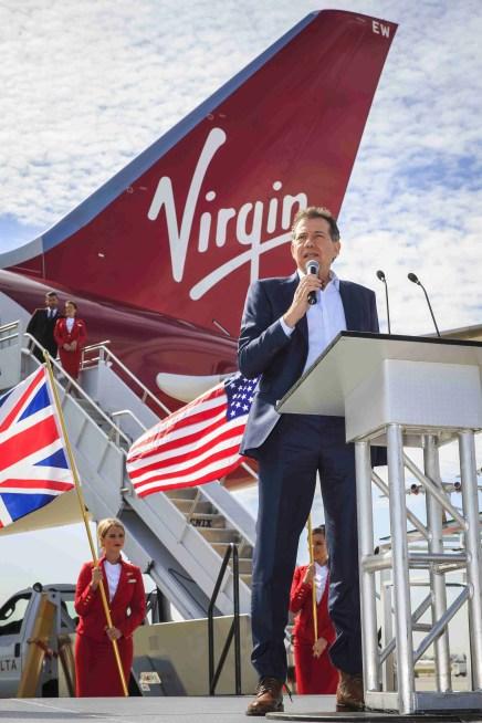 Craig Kreeger, CEO Virgin Atlantic Airways