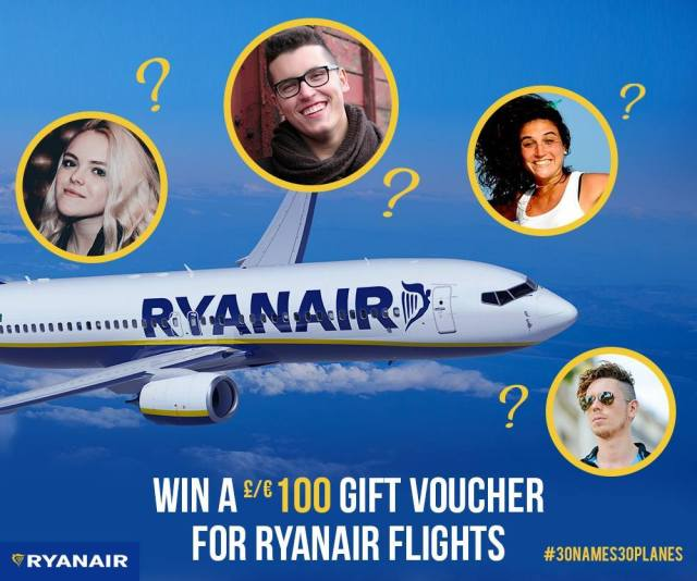 RyanairFacebookContest