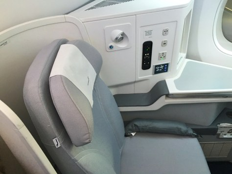 Finnair A350 Business Class Seat/FCMedia