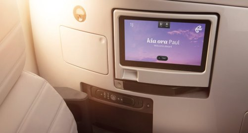 Air New Zealand Business Premier Seat/Air New Zealand