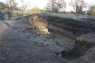 Remains from the settlement in Slatina dating to 6000- 5500 BC, Edal Anton Leftwerov - Own work, Commons