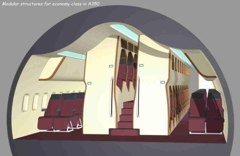 Vertical Cabin Design Concept, Olivier Grégoire