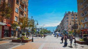 Vitosha Blvd., the main shopping street in the city, Sami C, Commons