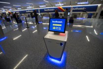 Southwest Airlines welcomes Customers to the brand new ticketing lobby at LAX Terminal 1. Customers experience newly renovated spaces throughout T1 with the carrier's new ticketing lobby, baggage claim and gate areas.