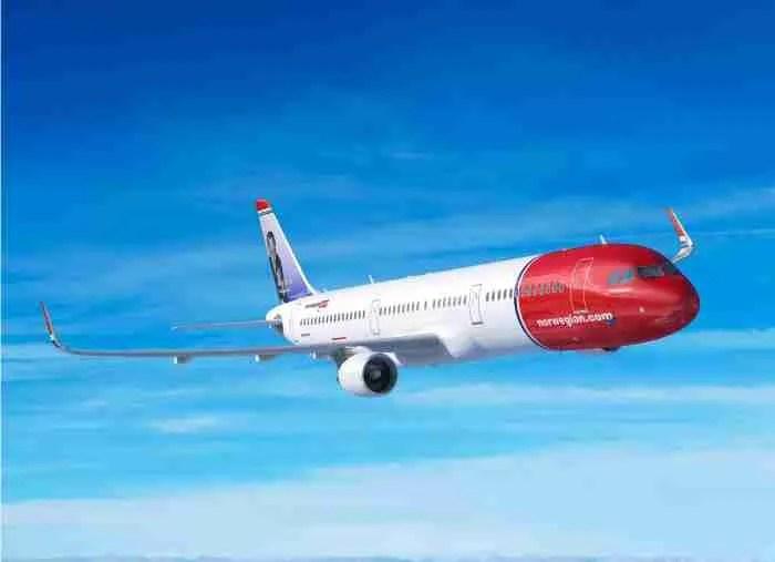 Norwegian orders 30 A321LR (Long Range) aircraft.