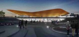 New Helsinki Terminal Entrance Source: Finavia