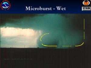 Wetmicroburst