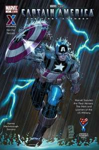 """Cover for """"The First Avenger"""""""