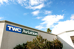 Jet charter operator TWC Aviation new location at Scottsdale, AZ