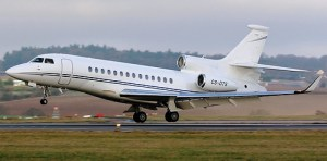 Falcon 7X N221HJ, Key Air Jet Charter