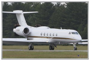 Gulfstream V N516GH Charter with Solairus Aviation