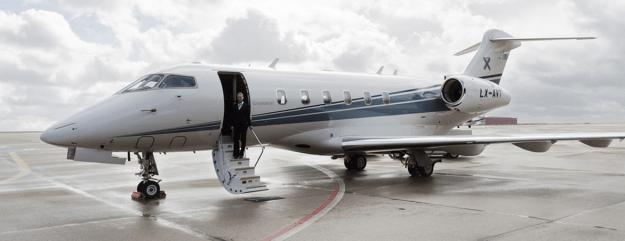 Luxaviation charter jet