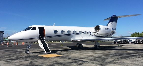 Prime Jet Gulfstream IV-SP for charter based So. Florida