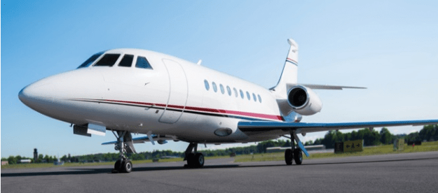 Falcon 2000 Charter New York and Florida