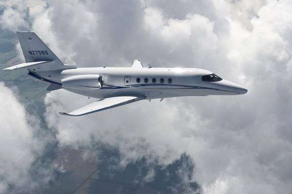 First Citation Latitude available for charter. Operated by AMG Jets.