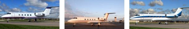 Avid Air Gulfstream III fleet for charter based KPBI West Palm Beach, Florida