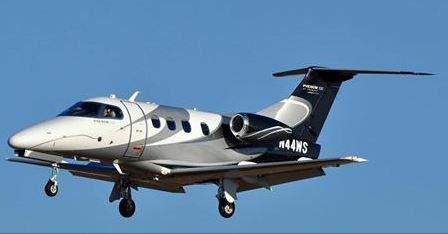 Phenom 100 light jets for charter operated by Trident Aircraft, based KESN Easton, MD.