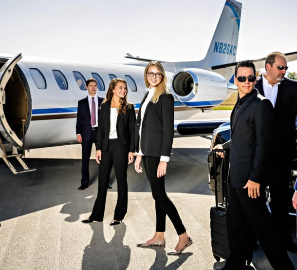 The Southern Sky Aviation Citation V light jet, now available for charter