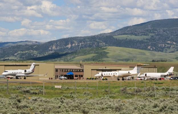 Jackson Hole Aviation FBO at Jackson Hole Airport