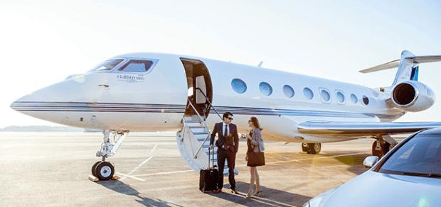 Charter Gulfstream G650 jet operated by Phenix Jet. Photo: Sojitz Corp.