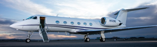 Charter Gufstream IV-SP based SDL Scottsdale AZ and operated by Prime Jet
