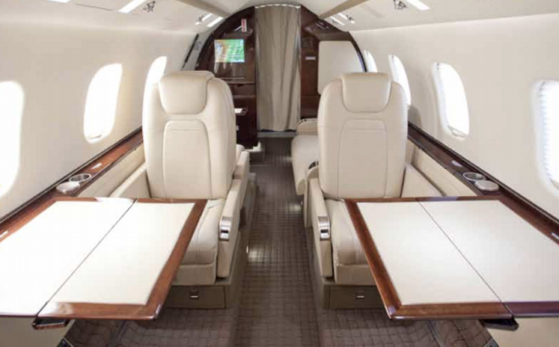 Learjet 60XR new to charter, based New Haven, CT and operated by Gama Aviation.