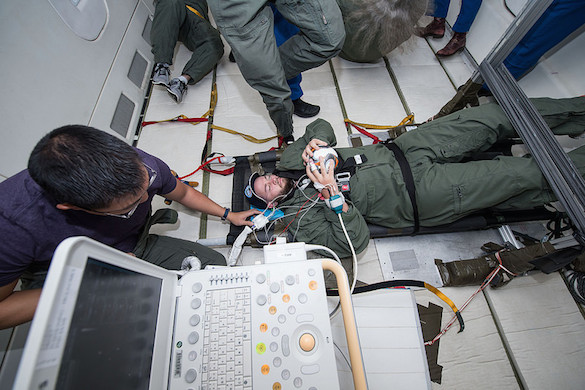 Effects of Microgravity on Intracranial Pressure