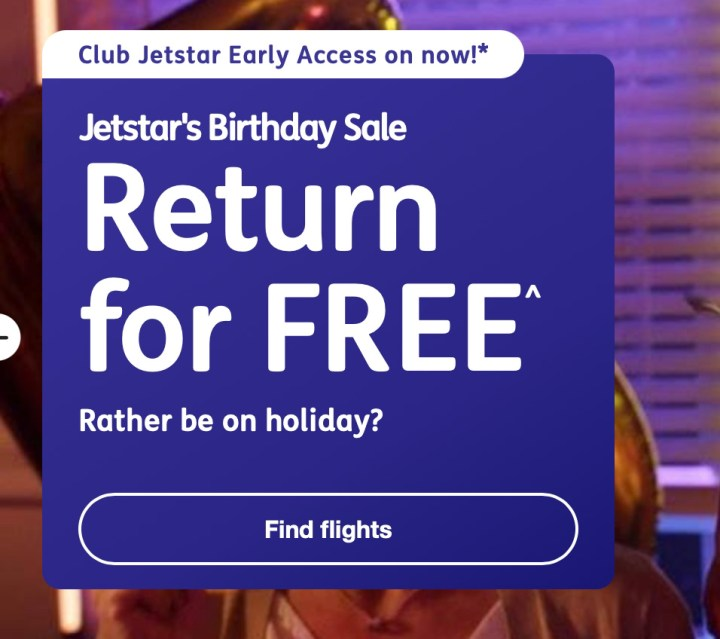 Jetstar Return For Free Sale