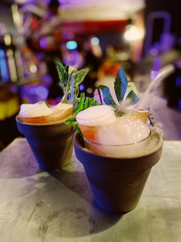 420 (CBD-infused) cocktails at ABQ Bar in London - travel and cocktails