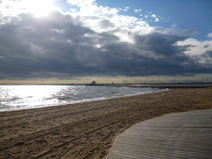 Views Of St Kilda Beach where you can find the St Kilda penguins