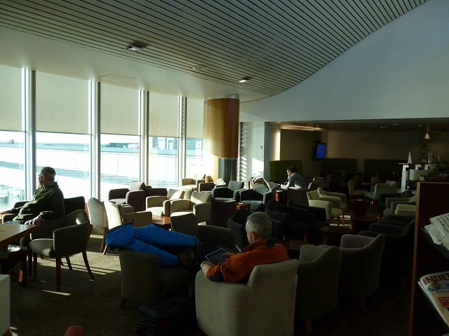 Lounging In The Bollin Lounge