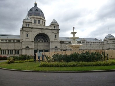 Royal Exhibition Building In Carlton Gardens