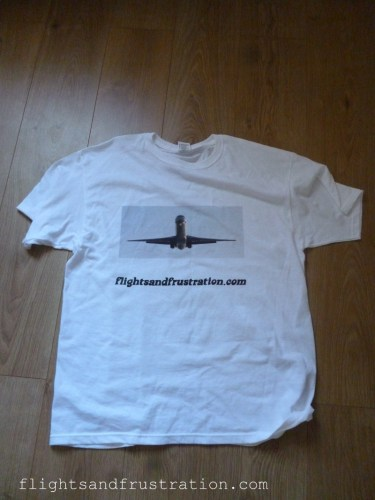 Flights And Frustration T-shirt became an unexpected expense