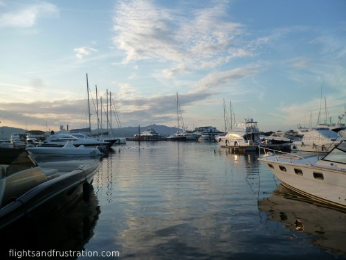 The marina at Porto Rotondo