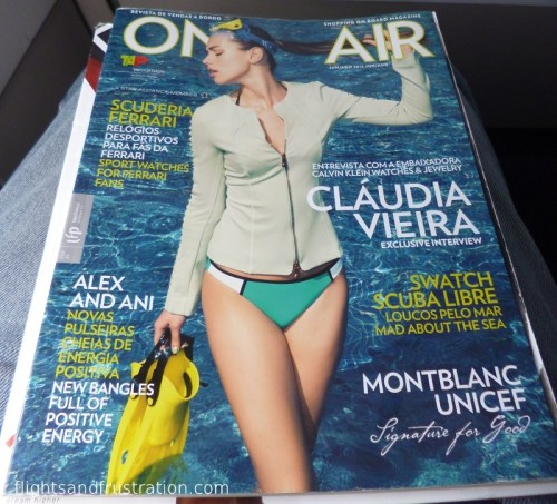 On Air magazine from TAP Portugal