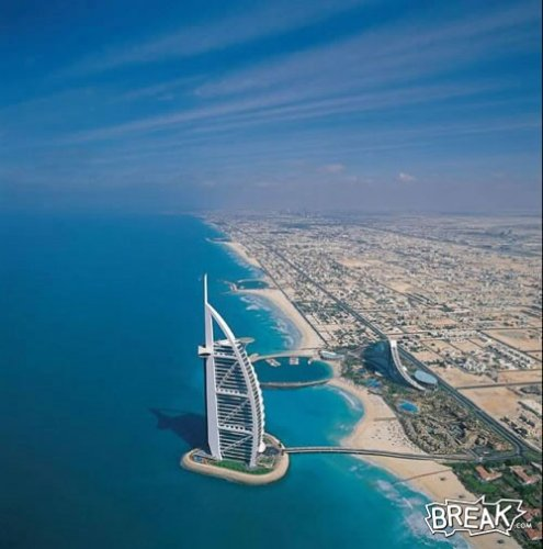 Burj Al-Arab - photo credit maazbot