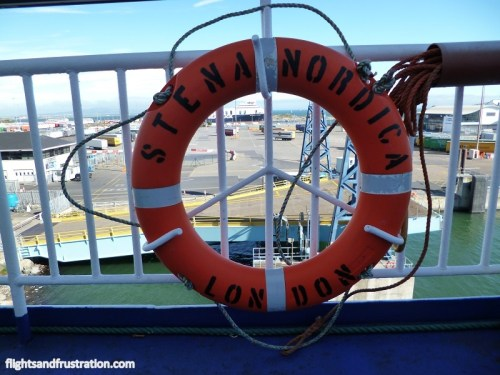 Stena Nordic was our direct ferry to Ireland