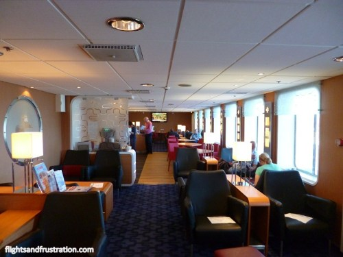 The Stena Plus lounge