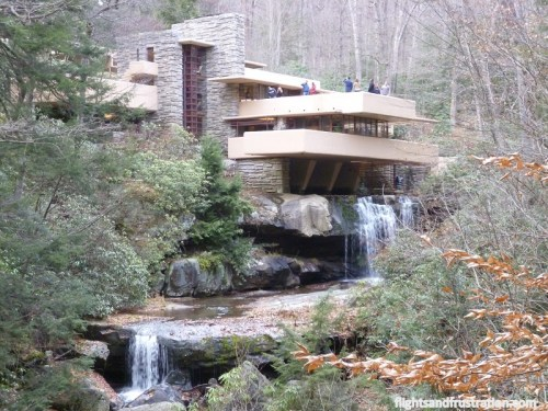 Visting The Frank Lloyd Wright Falling Water House