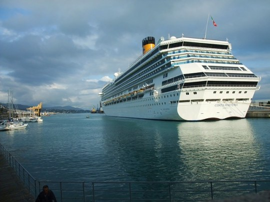 About to depart on a Cruise