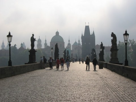 Charles Bridge in Prague is a place I want to return to