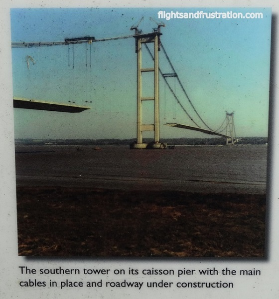 The two towers as part of the Humber Bridge Facts